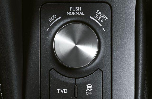 The Lexus RCF drive modes