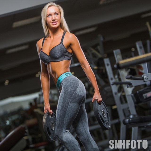 Millie George fitness model photos