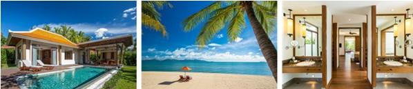 Santiburi Beach Resort & Spa, Koh Samui from £2,300 per person