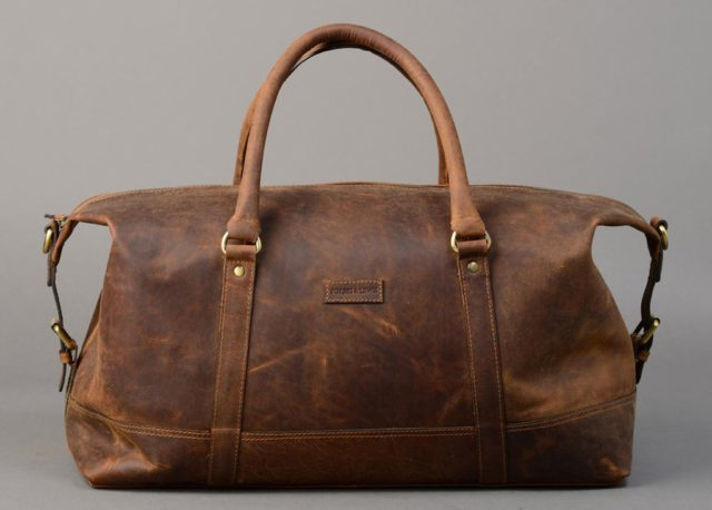 Somerset Leather Holdall