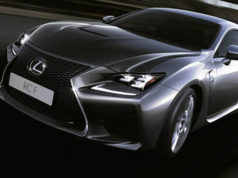 The Lexus RCF