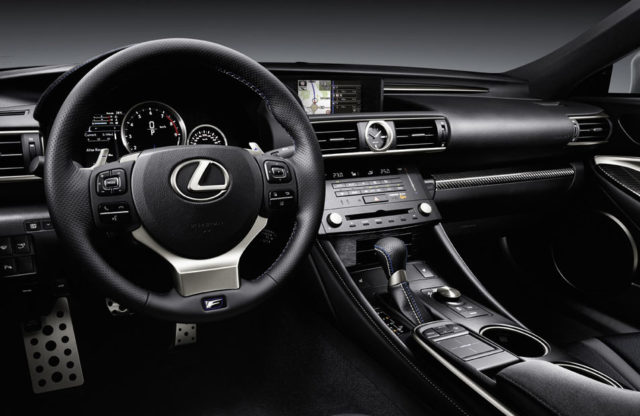 Inside the Lexus RCF - The DashboardInside the Lexus RCF - The Dashboard