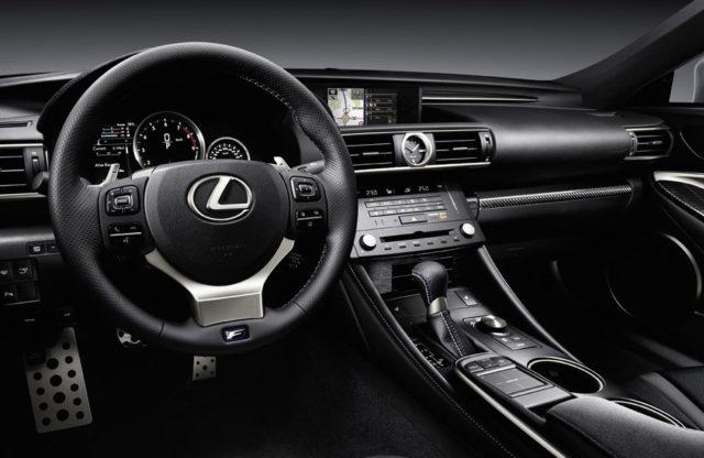 Inside the Lexus RCF - The DashboardInside the Lexus RCF - The Dashboard