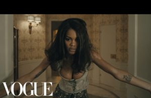 Teyana Taylor fade 2 fit promo video via Vogue
