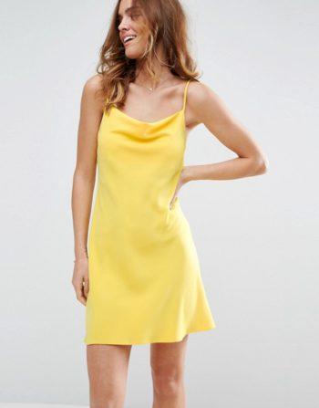 ASOS Cowl Neck Slip Dress