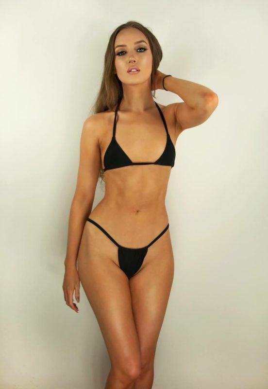 Akira Black Bikini Thong