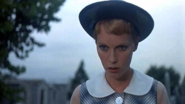 Mia Farrow's peter pan collars in Rosemary's Baby