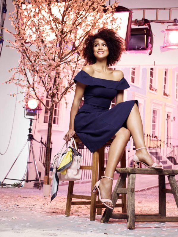 Nathalie Emmanuel stars in Dune's spring-summer 2017 campaign
