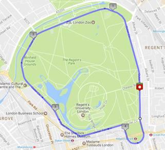 Regents Park Run and Primrose Hill