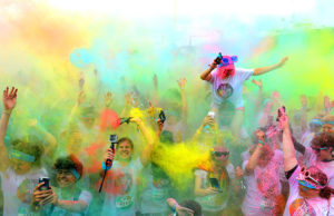 The Color Run Brighton 2016