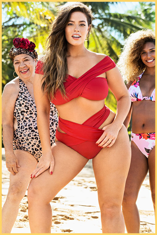 ashley graham swimwear collection