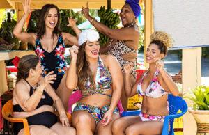 ashley graham swimwear collection ad campaign