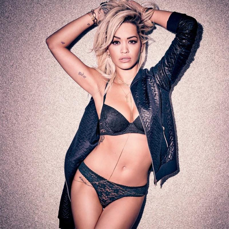 Rita Ora stars in Tezenis lingerie campaign