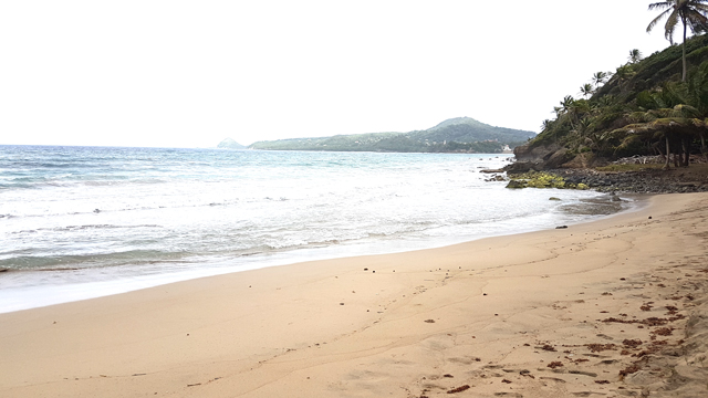 Petite Anse beach front