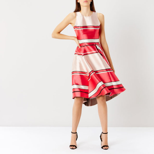 coast spring event - Bayshore Burnout Stripe Dress