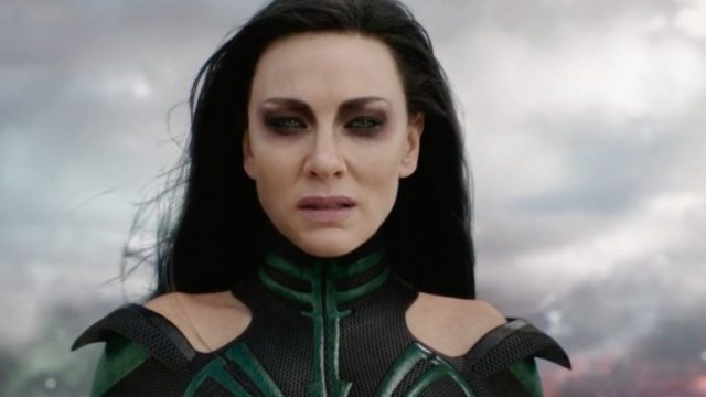 Cate Blanchett's menacing new look in the upcoming Marvel film. Photo: YouTube