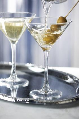 Dirty Martini at STK