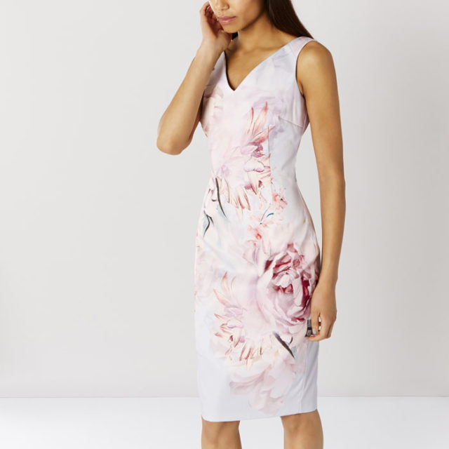 Eyzizi Floral Shift Dress