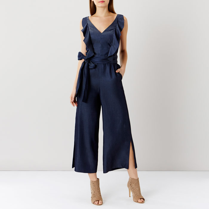Fabianna Chambray Jumpsuit