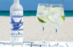 Grey Goose Limited Edition Riviera bottle