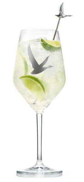 Grey Goose grand le fizz cocktail