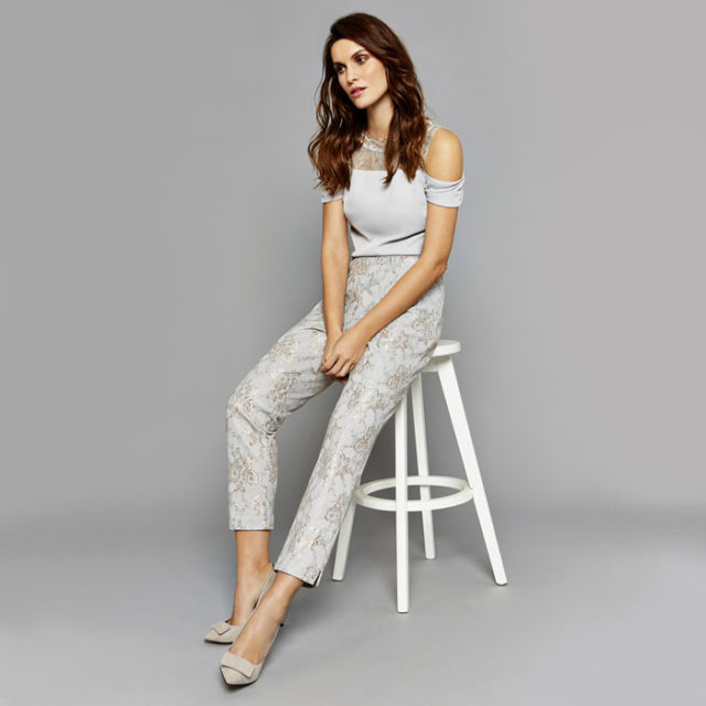 Halle Lace Trousers
