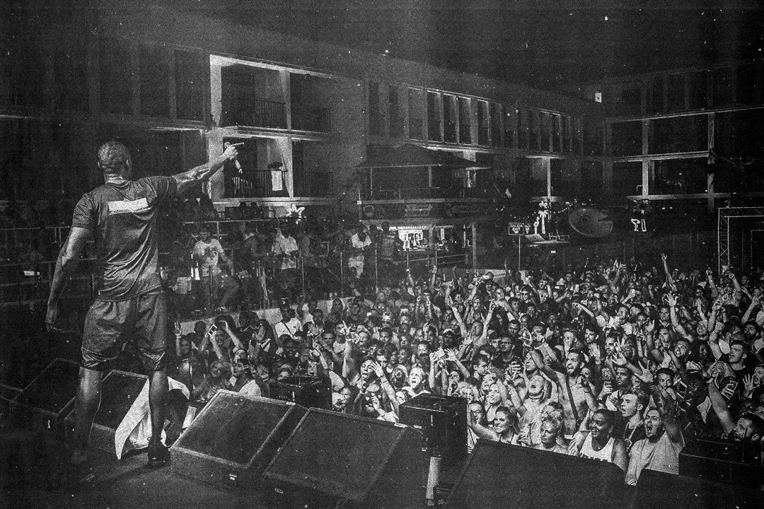 Stormzy at Ibiza rocks