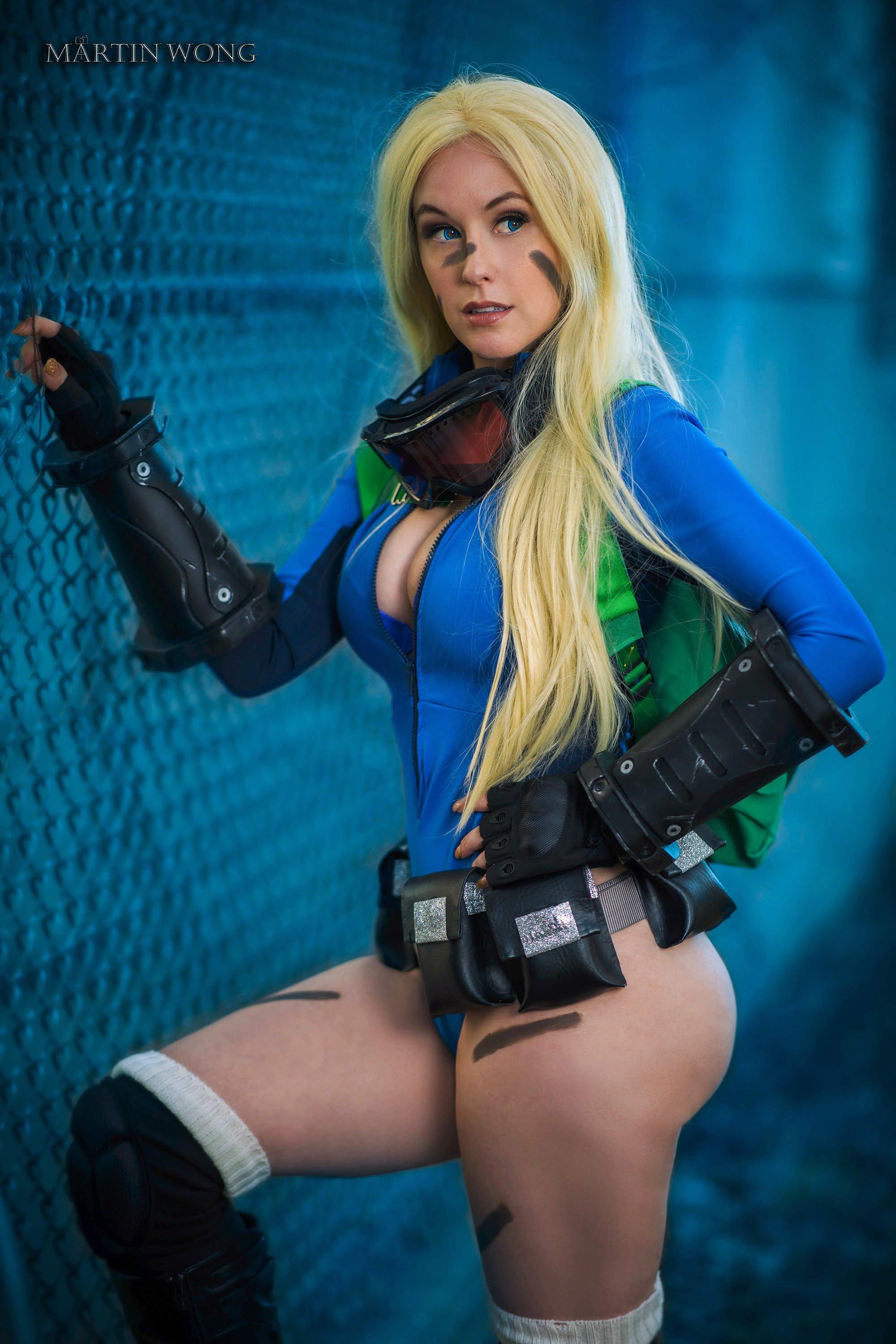Meg Turney as Cammy from Streetfighter