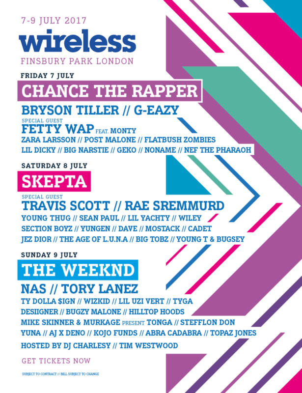 wireless 2017 official poster