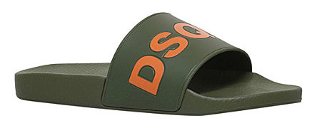 DSQUARED2 Dune Logo pool slides