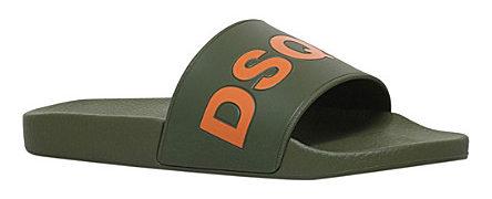 DSQUARED2 Dune Logo pool slides