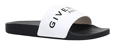 GIVENCHY Logo slide sandals