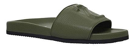 JOSHUA SANDERS 23 leather slide sandals