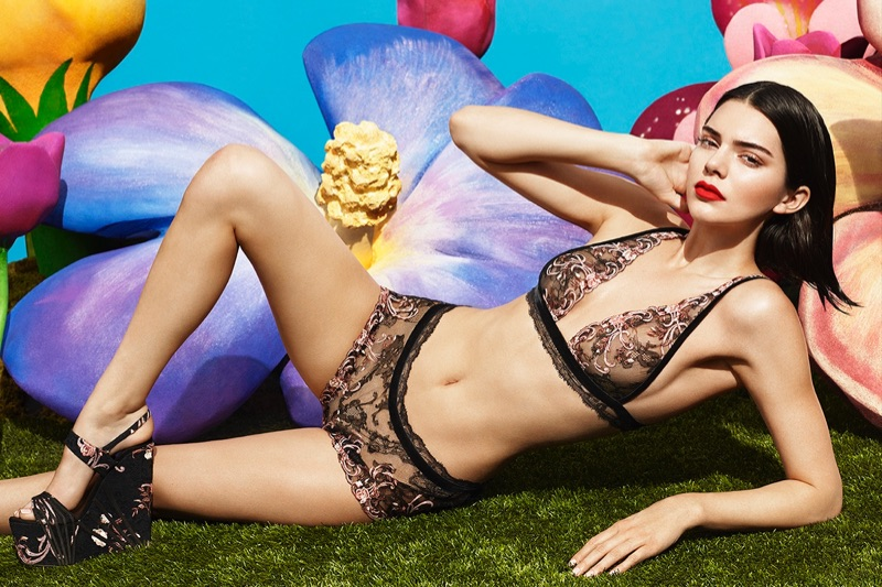 a0df6e6f292c86 Kendall Jenner is back as the face of La Perla and the images are ...