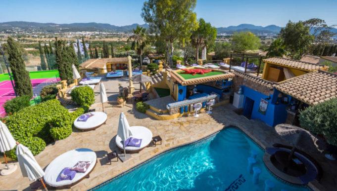 Pikes Hotel Ibiza foreground