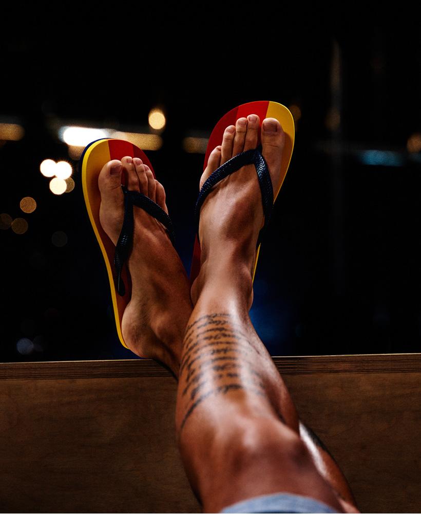 Sleek Flip Flops