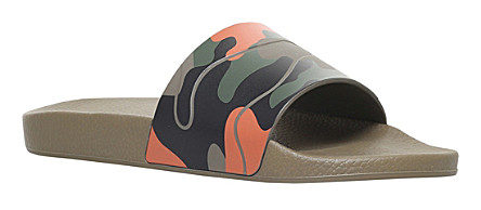 VALENTINO Camouflage-print rubber pool slides