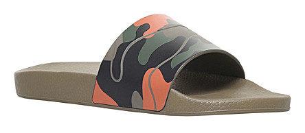 VALENTINO Camouflage-print rubber pool slides