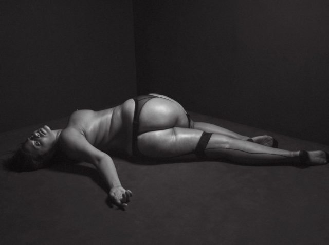 ashley Graham full nude for V magazine
