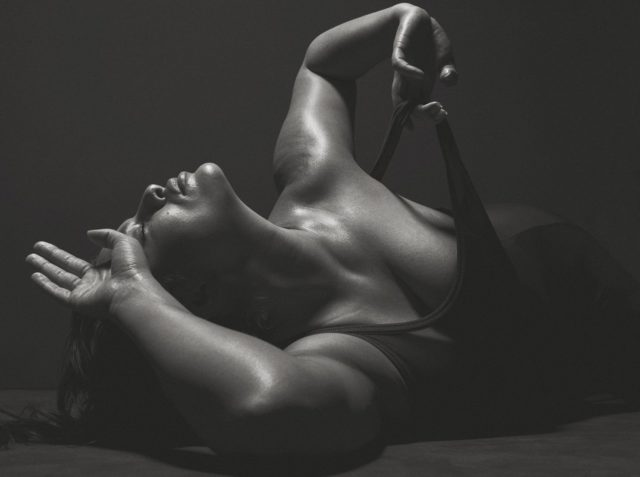 ashley Graham full nude for V magazine