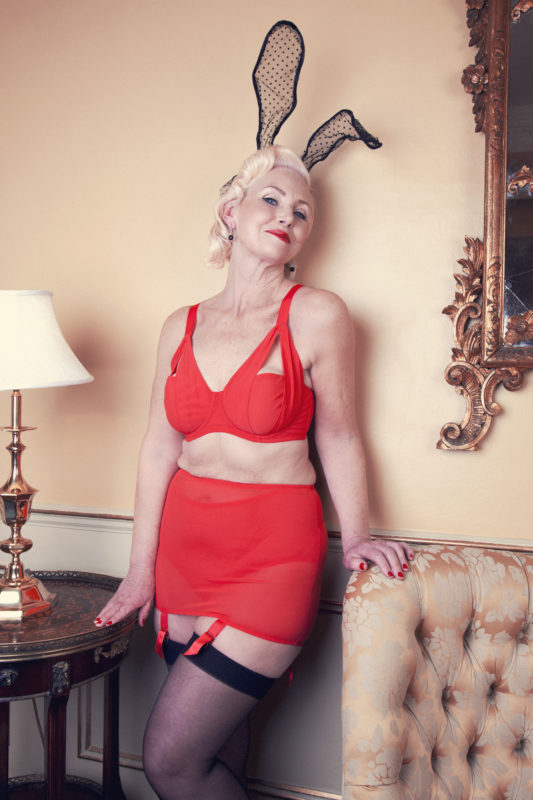 playful promises ageless fashion campaign