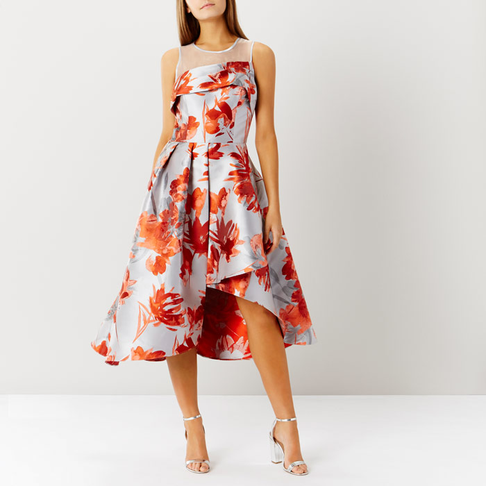 Aurora Jacquard Midi Dress