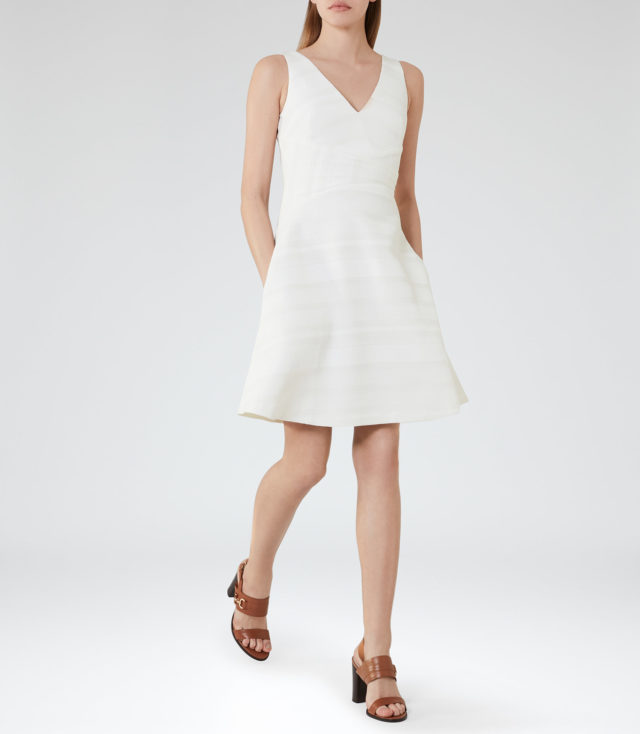 reiss summer sale - Daisy Fit and Flare Dress