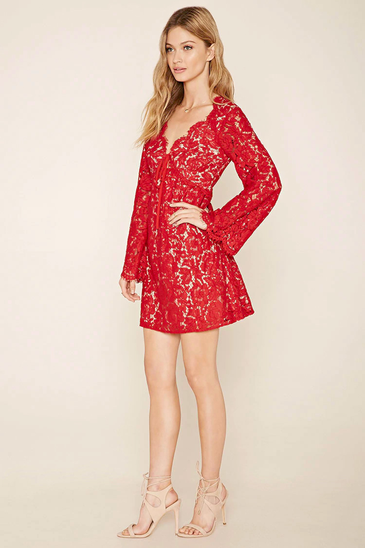 Forever 21 - Contemporary Eyelash Lace Dress