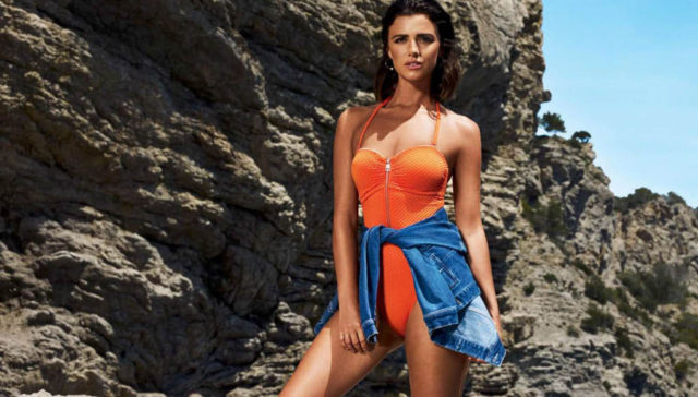 Lucy Mecklenburgh Bikini Photoshoot for V by Very