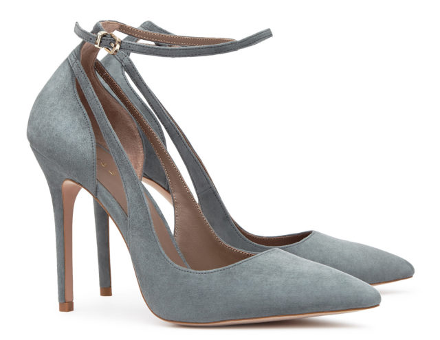 Marla Suede Ankle-Strap Shoes