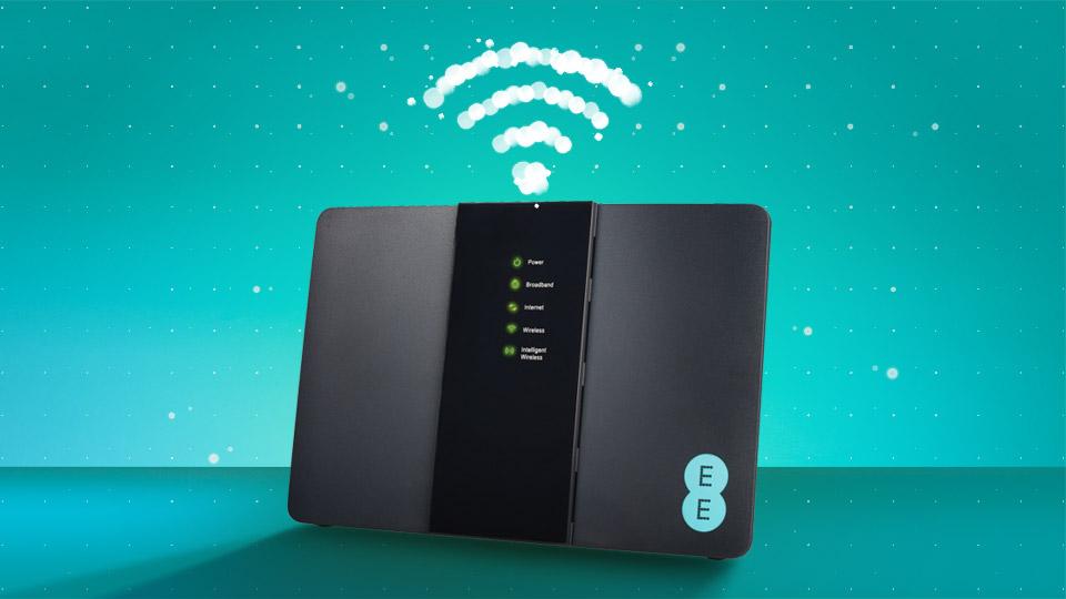 EE broadband router