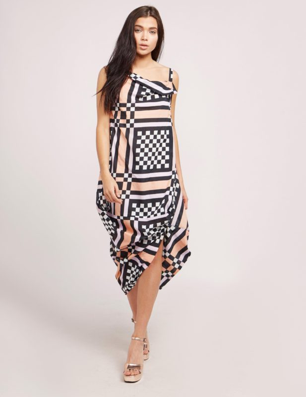 VIVIENNE WESTWOOD ANGLOMANIA TUBE NOMAD DRESS