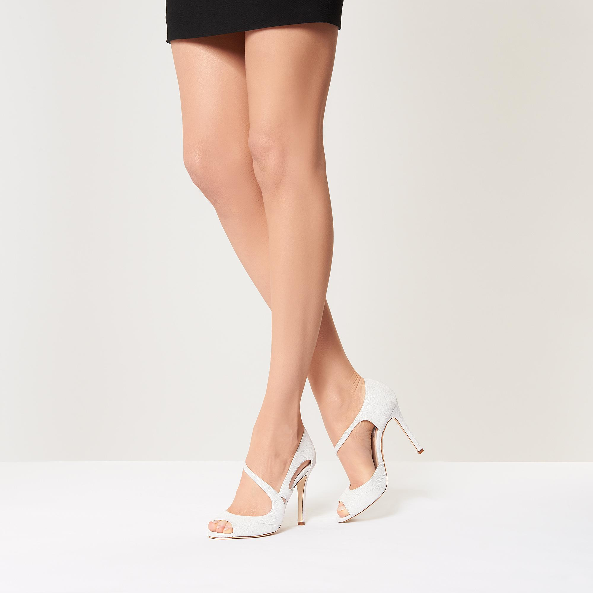 Valentina Metallic Formal Sandals