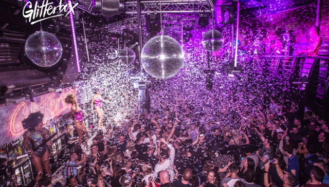 glitter box at ministry of Sound